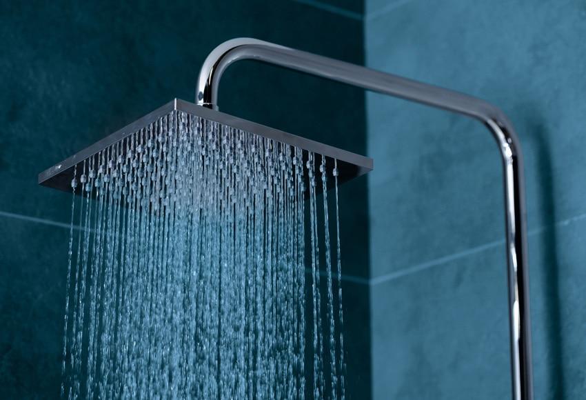 Conjunto de ducha con grifo termost tico star rain ref for Duchas piscina leroy merlin