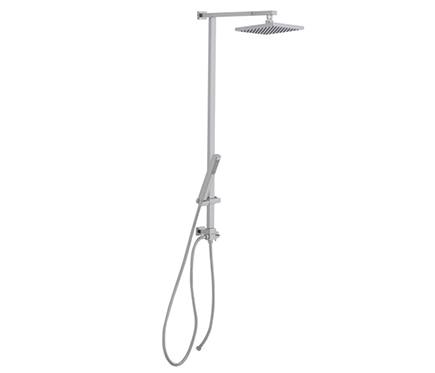 Conjunto de ducha sin grifo nix ref 16079623 leroy merlin - Conjunto ducha leroy merlin ...