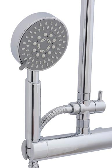 Conjunto de ducha sensea dado ref 17364865 leroy merlin - Conjunto ducha leroy merlin ...
