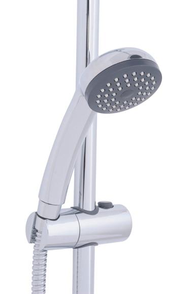 Conjunto de ducha sensea nerea con mixer ref 17364872 for Conjunto ducha leroy merlin