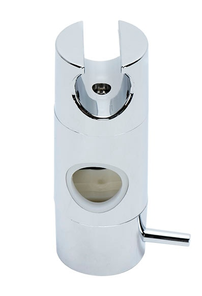 Soporte de ducha aquagrif para barra 22 mm ref 18392493 - Barra ducha leroy merlin ...