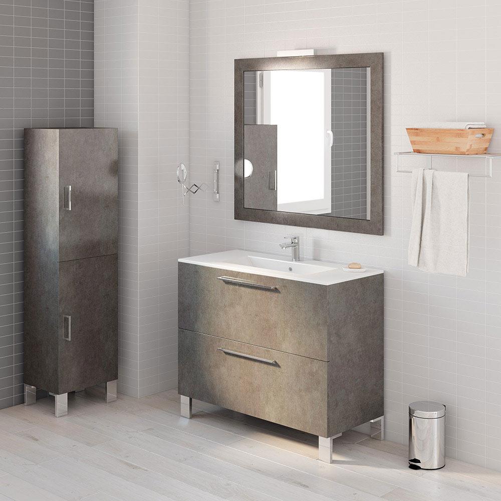 Mueble de lavabo aida ref 17923983 leroy merlin for Mueble fregadero leroy merlin