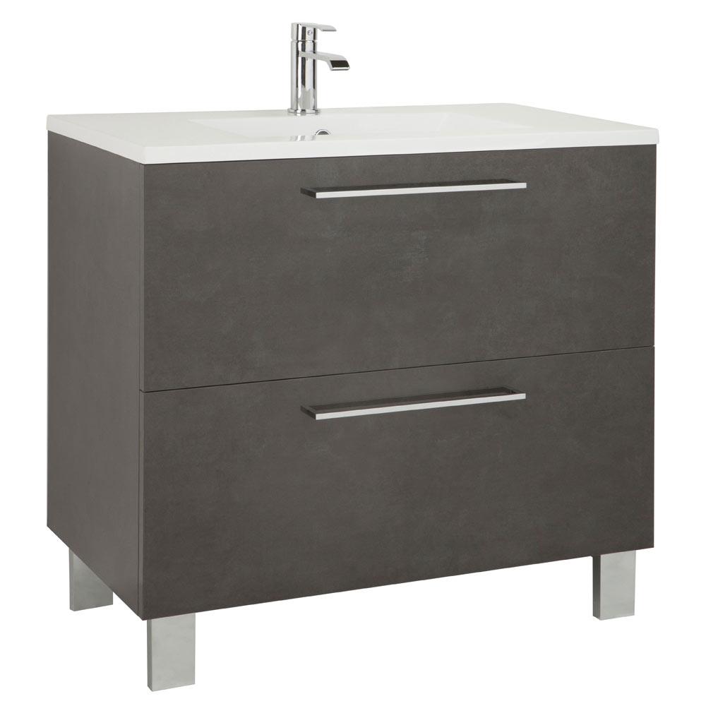 Mueble de lavabo aida ref 17923983 leroy merlin for Mueble lavabo