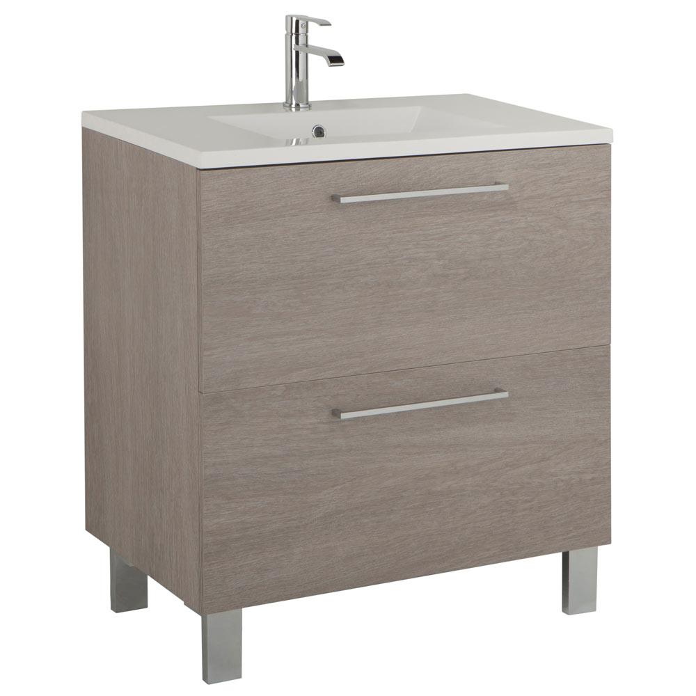Mueble de lavabo aida ref 17924144 leroy merlin for Mueble auxiliar lavabo