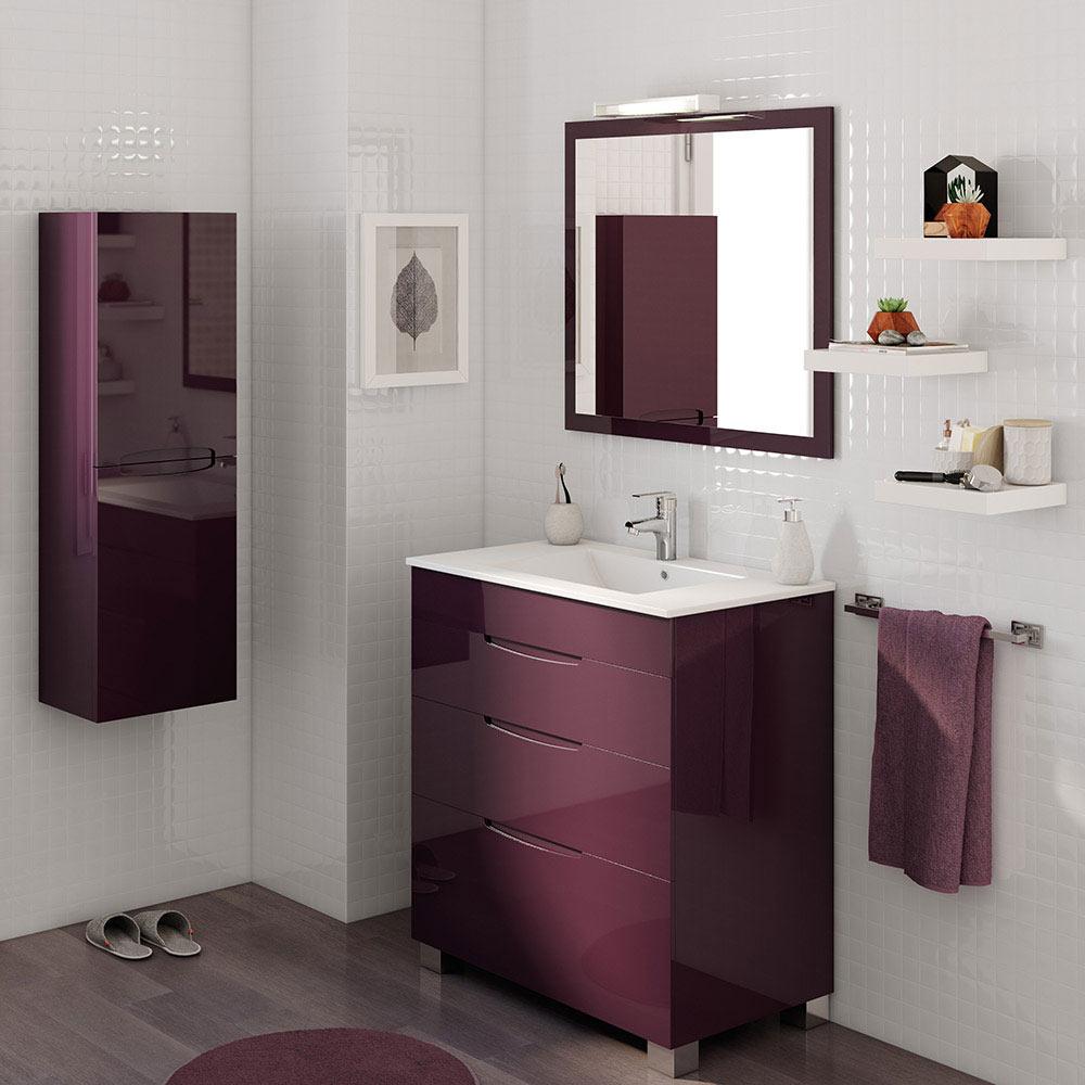 Mueble de lavabo ASIMETRICO Ref 17620652  Leroy Merlin