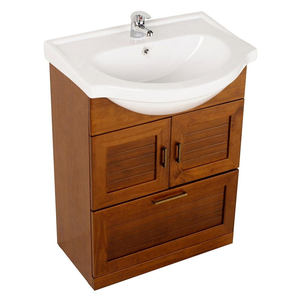 Mueble de lavabo atenas ref 17307031 leroy merlin - Mueble de lavabo ...
