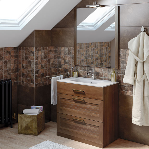 Muebles de lavabo leroy merlin for Muebles de lavabo con pie