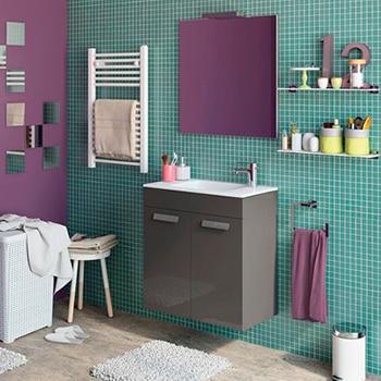 Leroy merlin mueble baño victoria: muebles para lavabos con ...