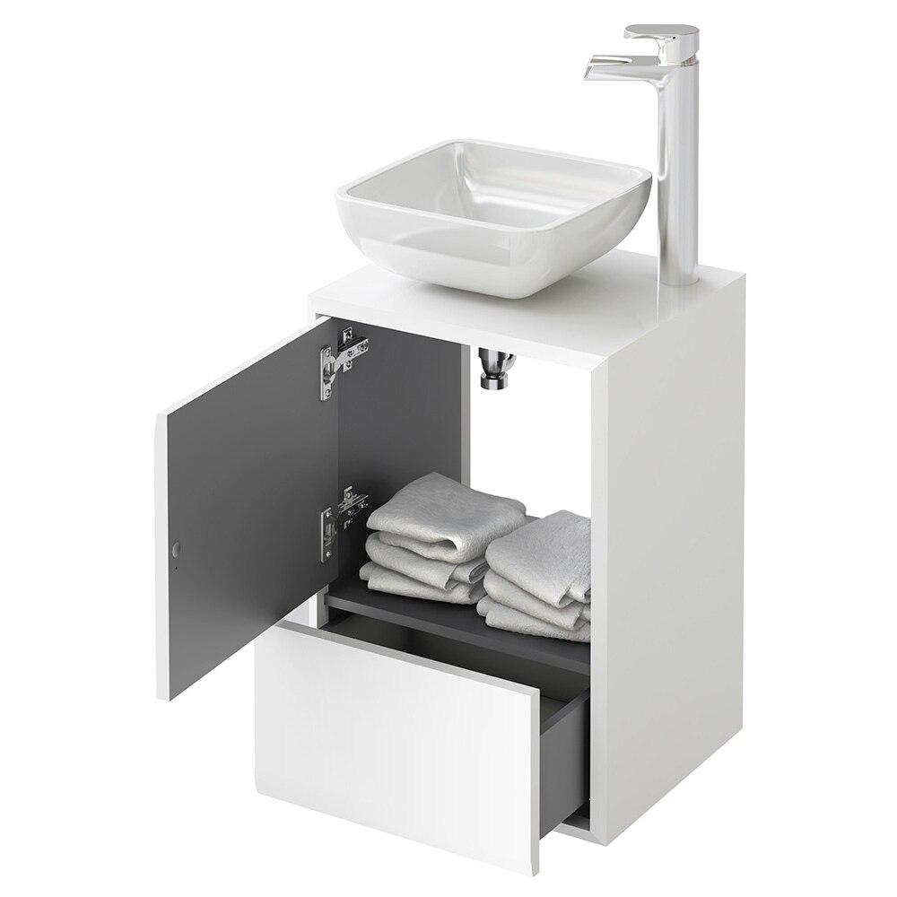 Conjunto de mueble de lavabo belladona ref 15471092 for Lavabos leroy merlin ofertas