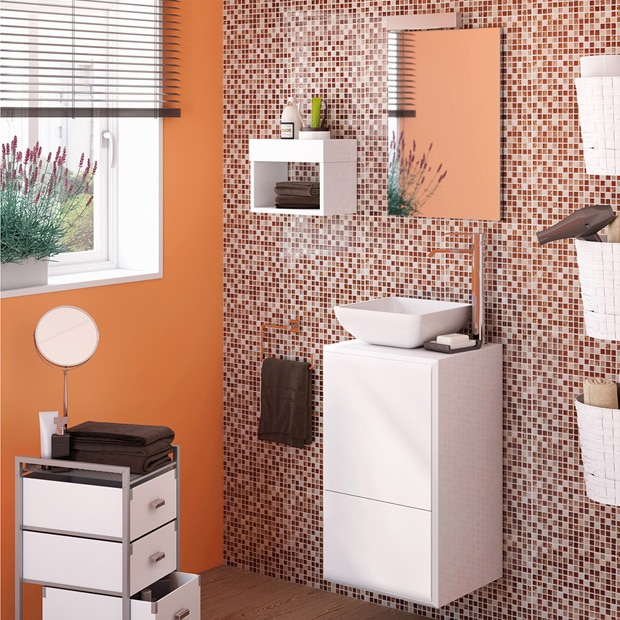 Muebles de lavabo leroy merlin for Catalogos de banos pequenos