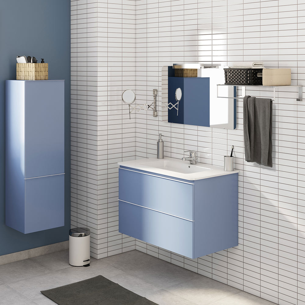 Conjunto de mueble de lavabo bend ref 17937045 leroy merlin for Mueble lavabo leroy