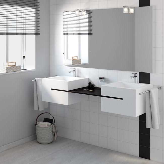 Mueble de lavabo calabria ref 17922212 leroy merlin for Mueble microondas leroy merlin
