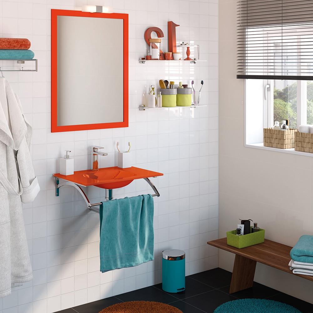 Conjunto de mueble de lavabo coco ref 16760492 leroy merlin - Modelos de azulejos para banos ...