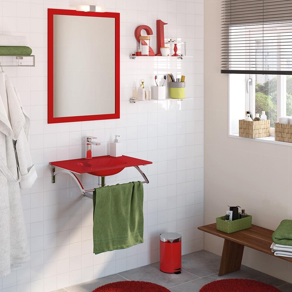 Conjunto de mueble de lavabo coco ref 16760520 leroy merlin for Conjunto mueble lavabo
