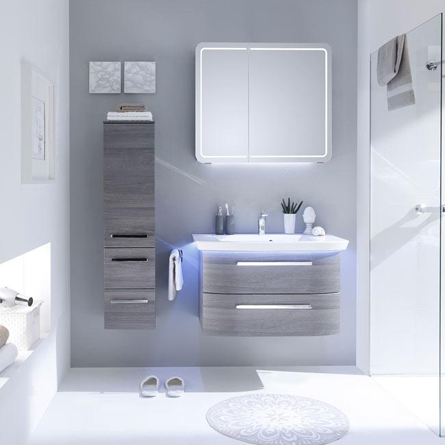 Mueble de lavabo contea ref 19639613 leroy merlin - Bricomart banos ...