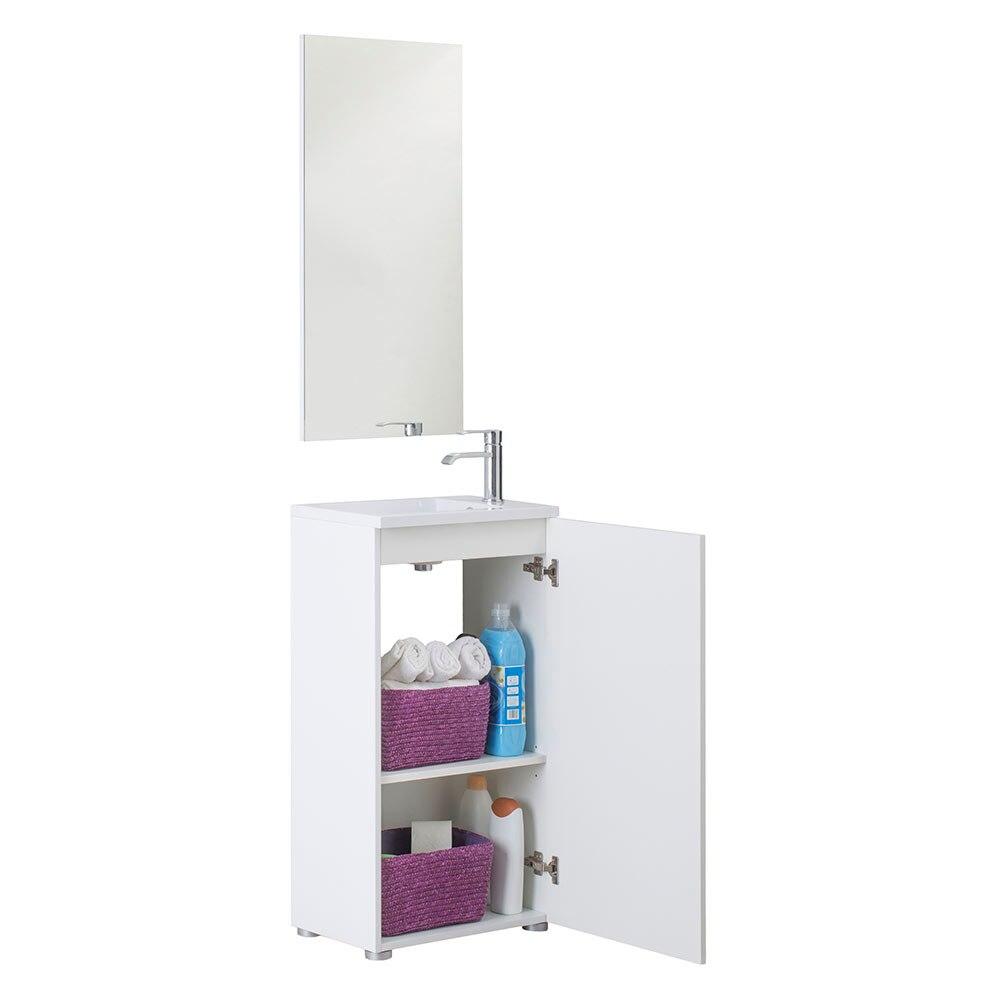 Conjunto de mueble de lavabo cube ref 17912902 leroy merlin - Tu mueble online ...