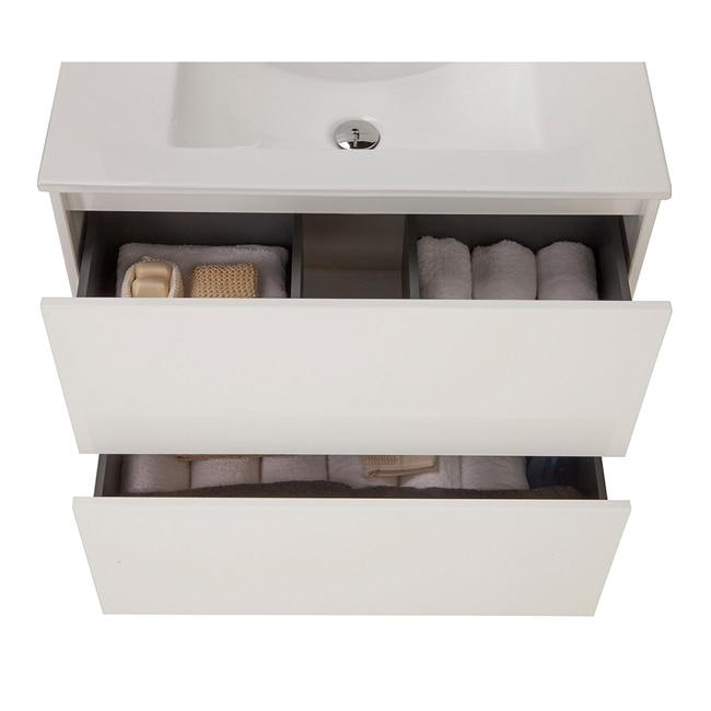 Conjunto de mueble de lavabo dakota ref 14989324 leroy for Wc lavabo leroy merlin