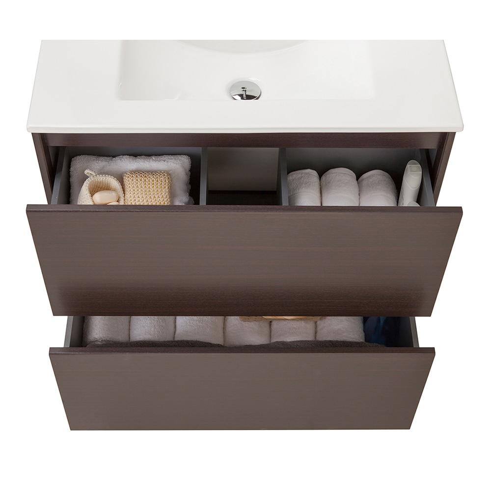 Conjunto de mueble de lavabo dakota ref 14989345 leroy - Mueble lavabo pie leroy merlin ...