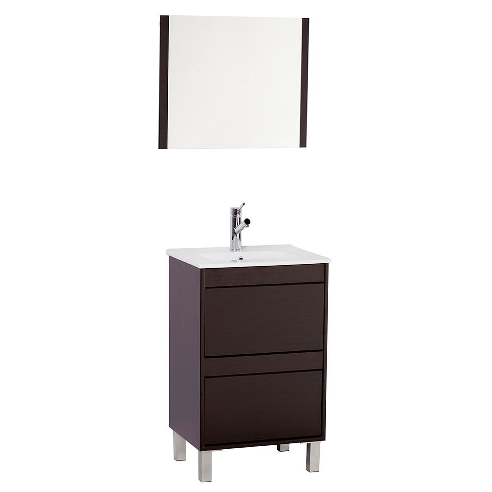 Conjunto de mueble de lavabo dakota ref 17337971 leroy - Tu mueble online ...