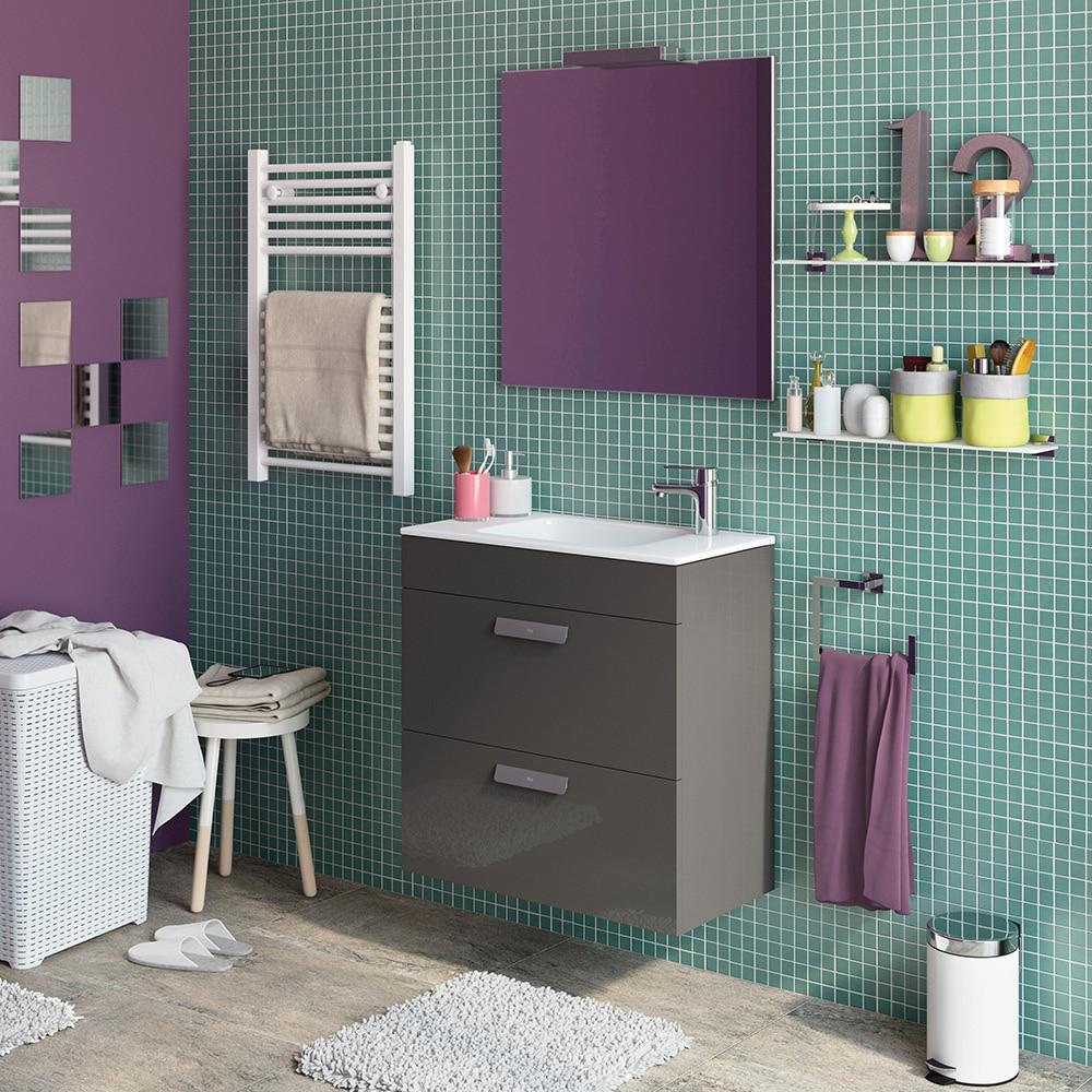 Conjunto de mueble de lavabo debba ref 16708895 leroy for Conjunto mueble lavabo
