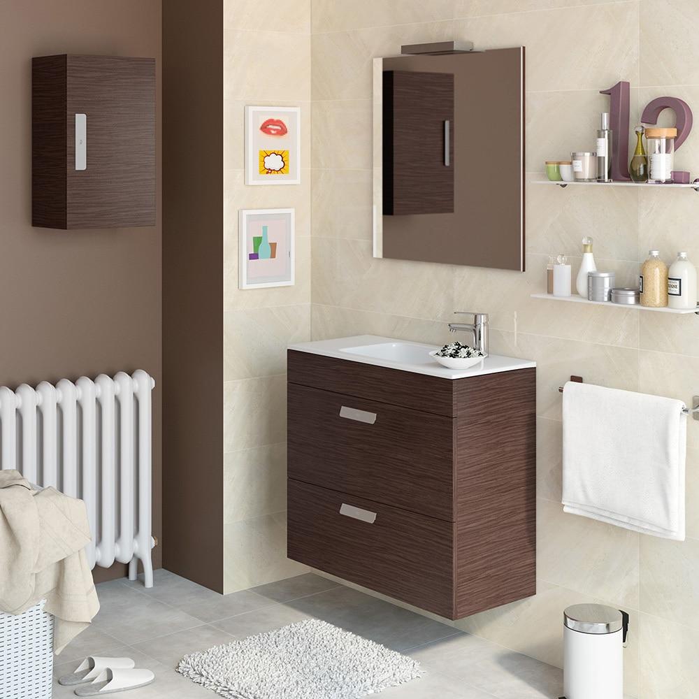 Conjunto de mueble de lavabo debba ref 16709161 leroy for Lavabo mueble pequeno