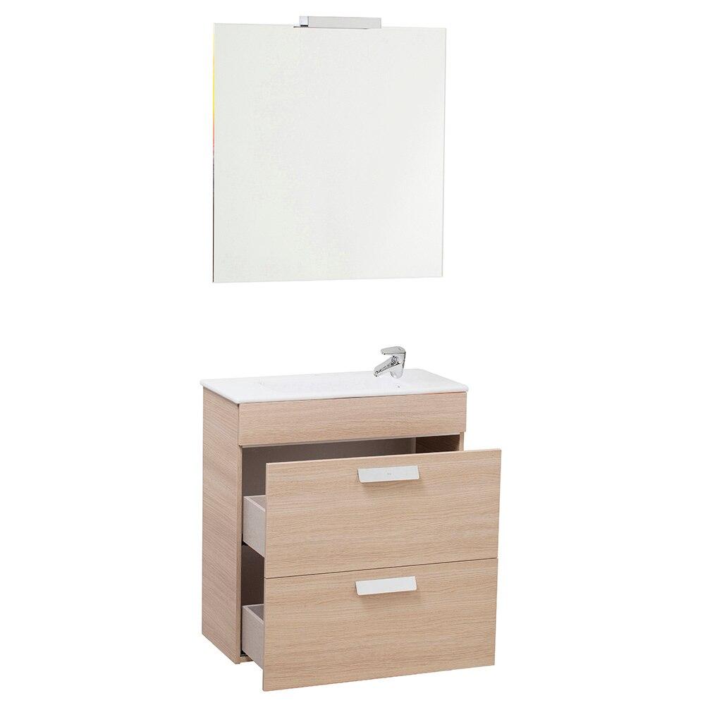 Conjunto de mueble de lavabo debba ref 16709413 leroy for Inodoro suspendido leroy merlin