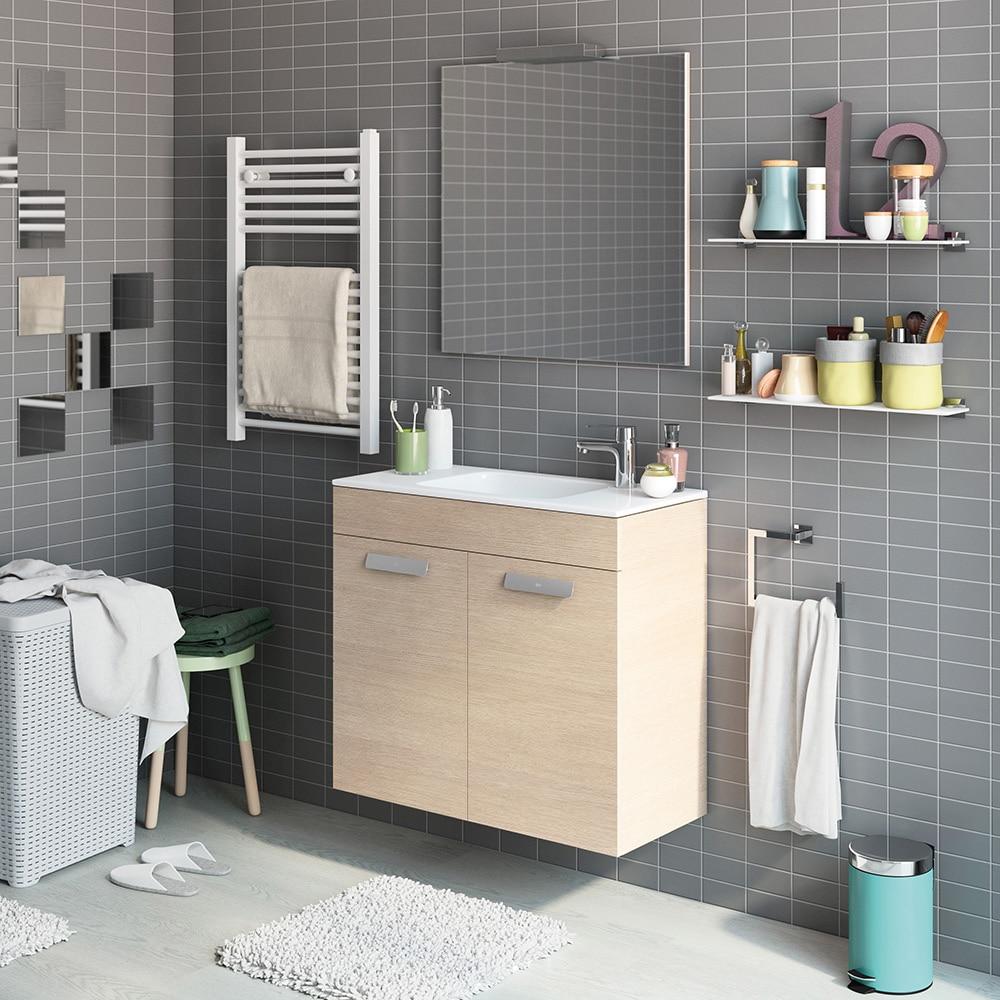 Conjunto de mueble de lavabo debba ref 16859724 leroy for Conjunto mueble lavabo