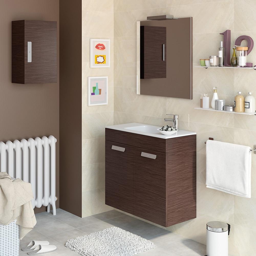 Conjunto de mueble de lavabo debba ref 16859731 leroy for Conjunto mueble lavabo