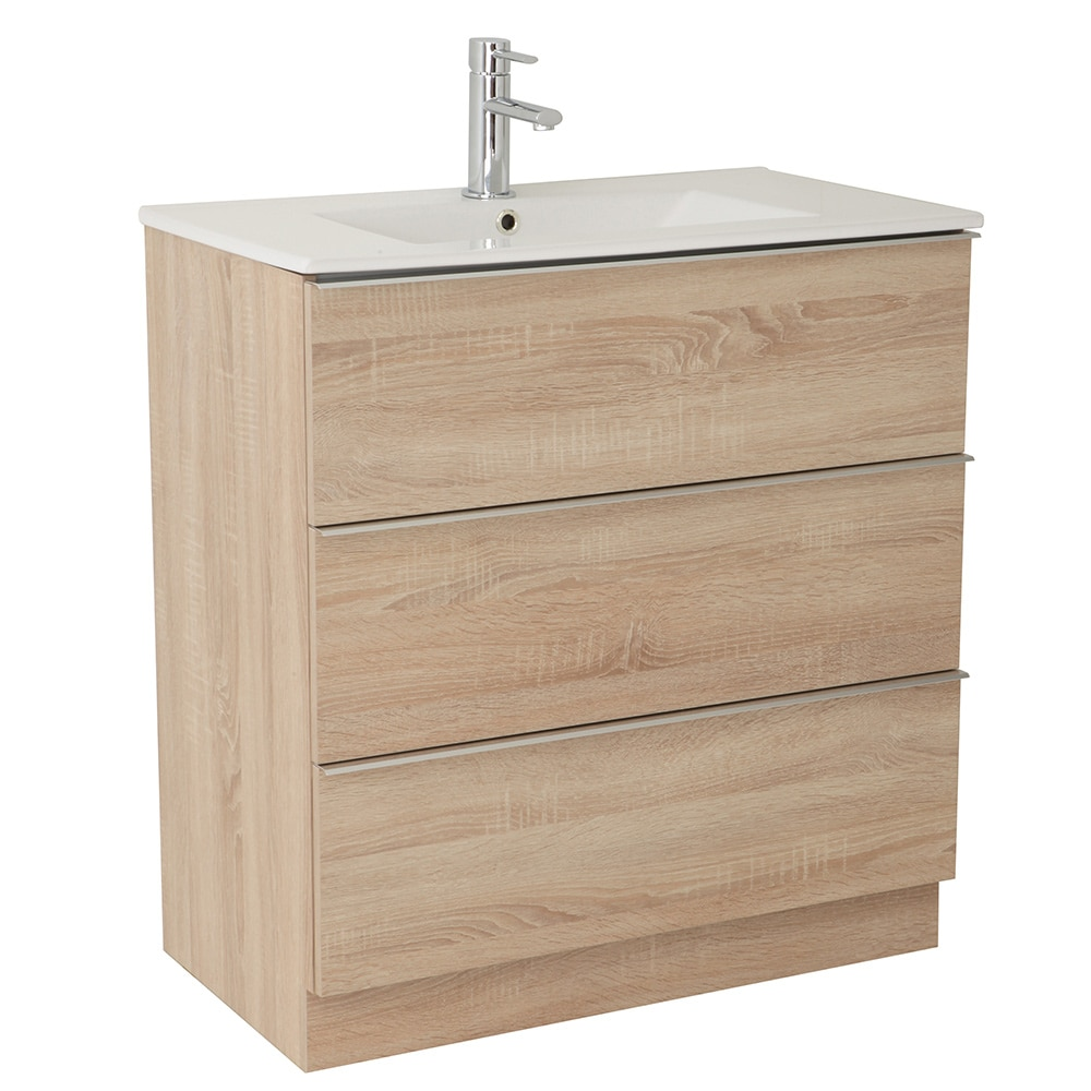 Mueble de lavabo discovery ref 17359741 leroy merlin for Mueble 2 lavabos