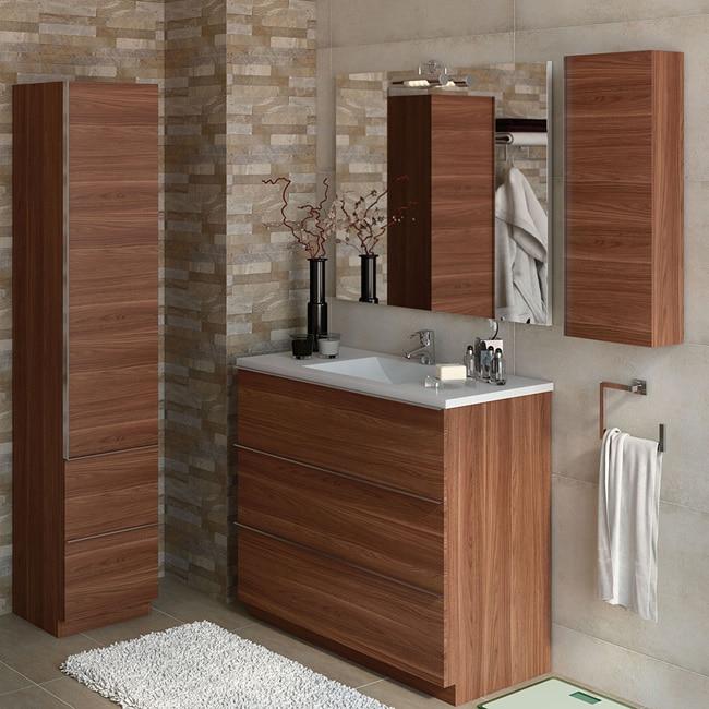 Mueble de lavabo discovery ref 17359874 leroy merlin for Lavabo pequeno leroy merlin