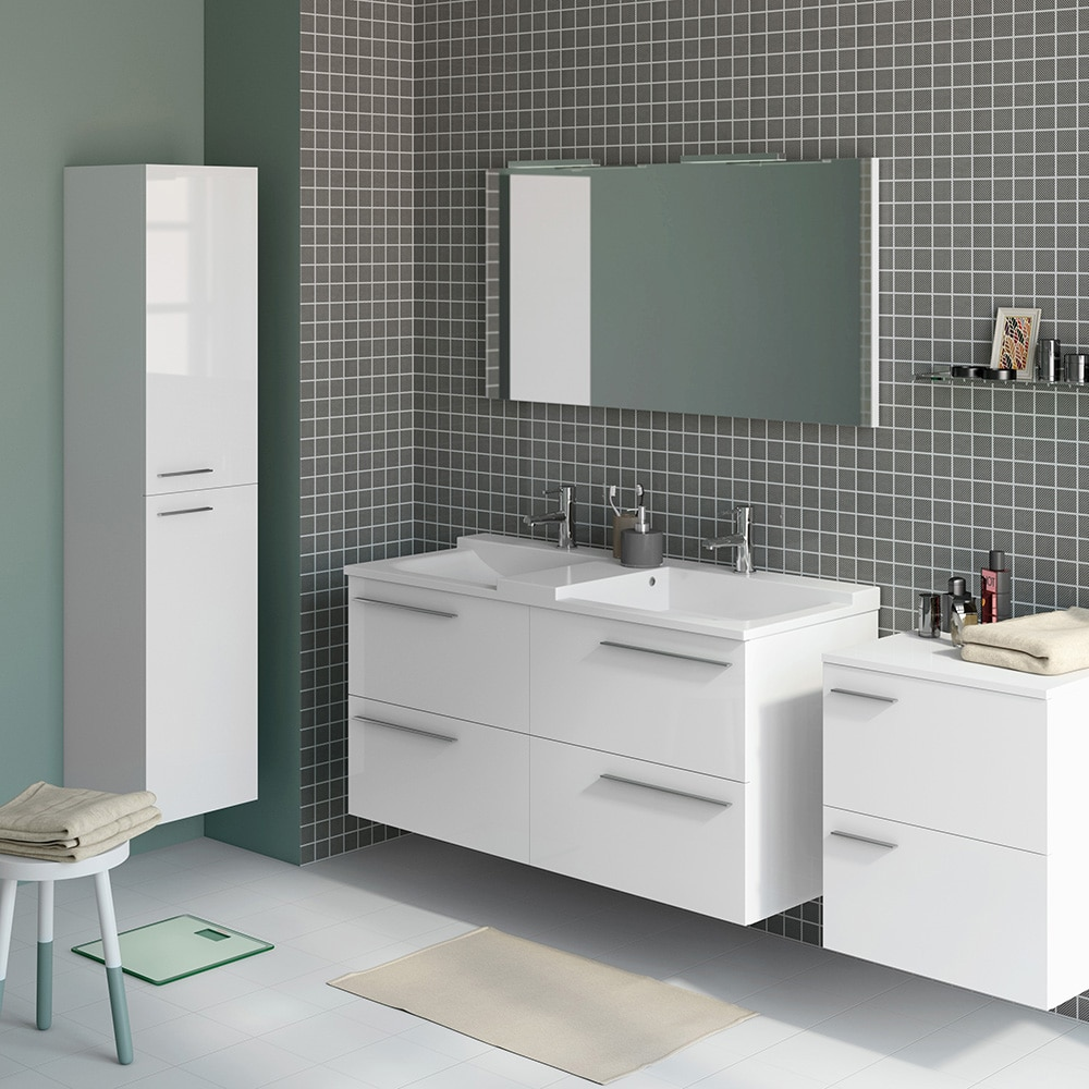 Mueble de lavabo elea ref 14991361 leroy merlin for Muebles tv leroy merlin