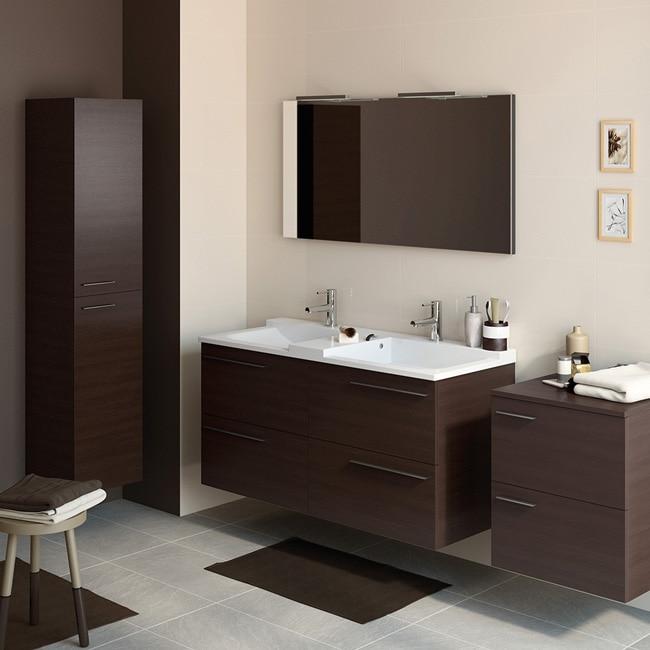 Mueble de lavabo elea ref 14991466 leroy merlin for Muebles de bano con espejo