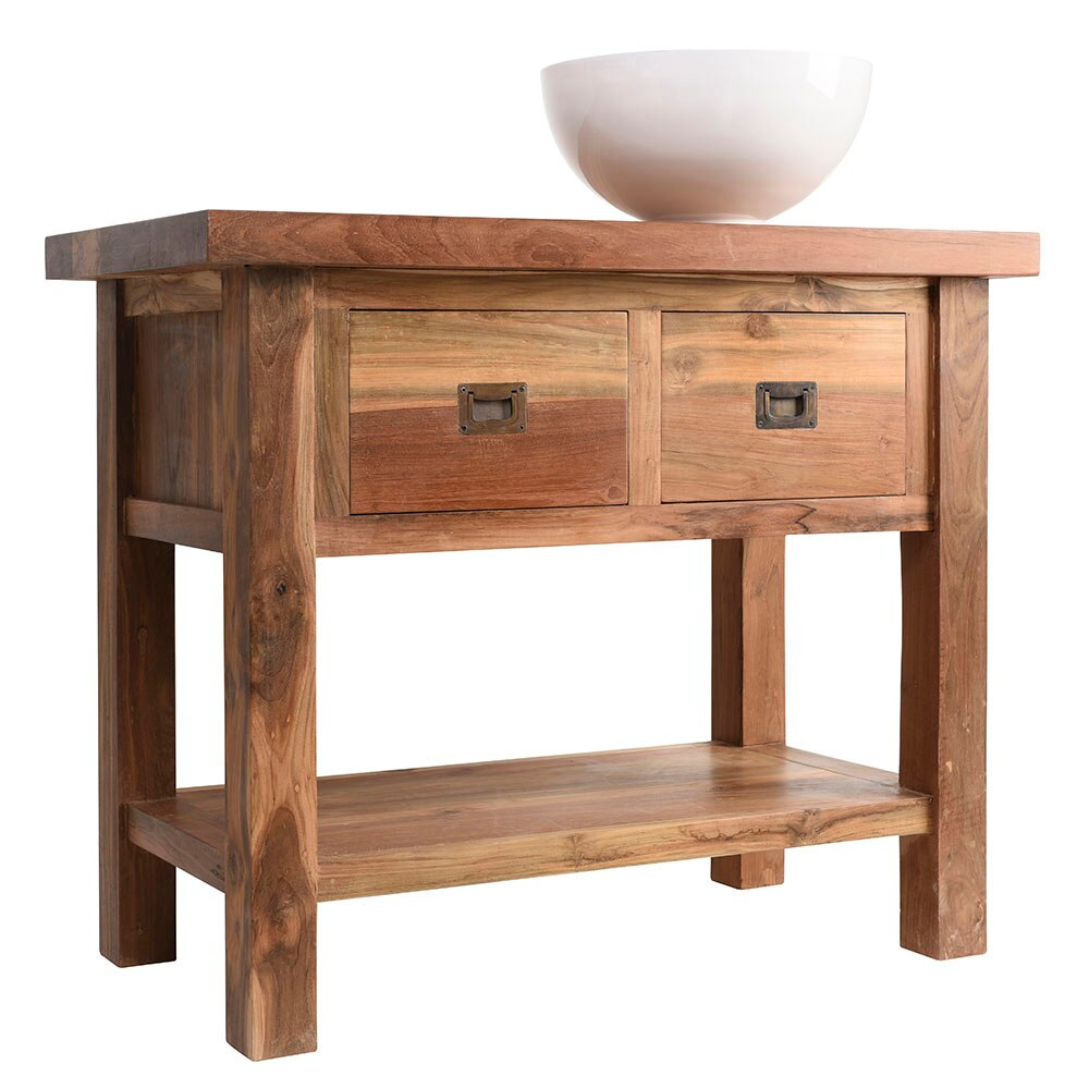 Mueble de lavabo essenza ref 17937486 leroy merlin for Mostrar muebles