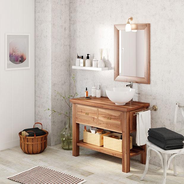 Muebles de lavabo leroy merlin Muebles de lavabo de obra