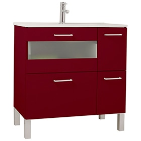 Mueble auxiliar de ba o serie fox armario ref 16909354 - Financiar muebles sin nomina ...