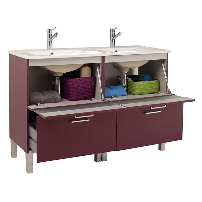 Mueble de lavabo fox ref 16729685 leroy merlin for Mueble plancha leroy merlin