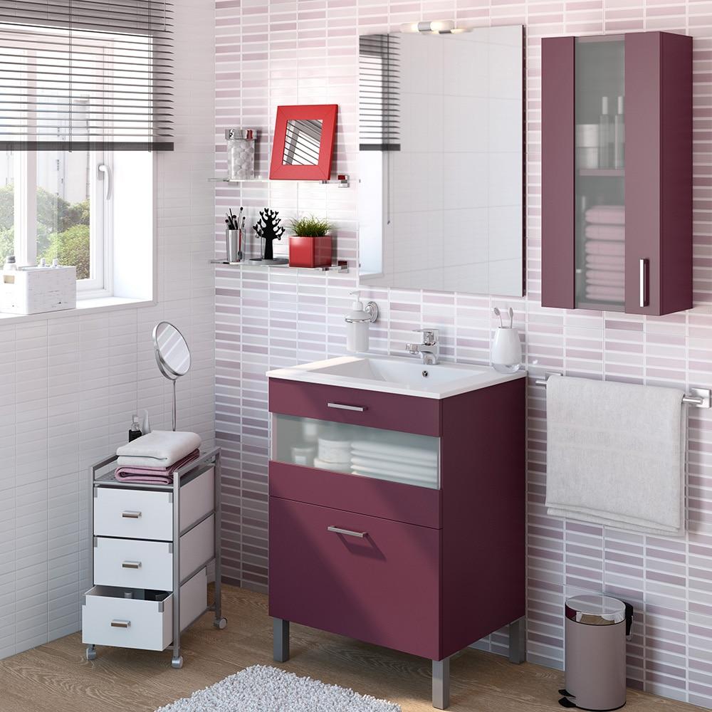 Mueble de lavabo fox ref 16729832 leroy merlin - Mueble fregadero leroy merlin ...