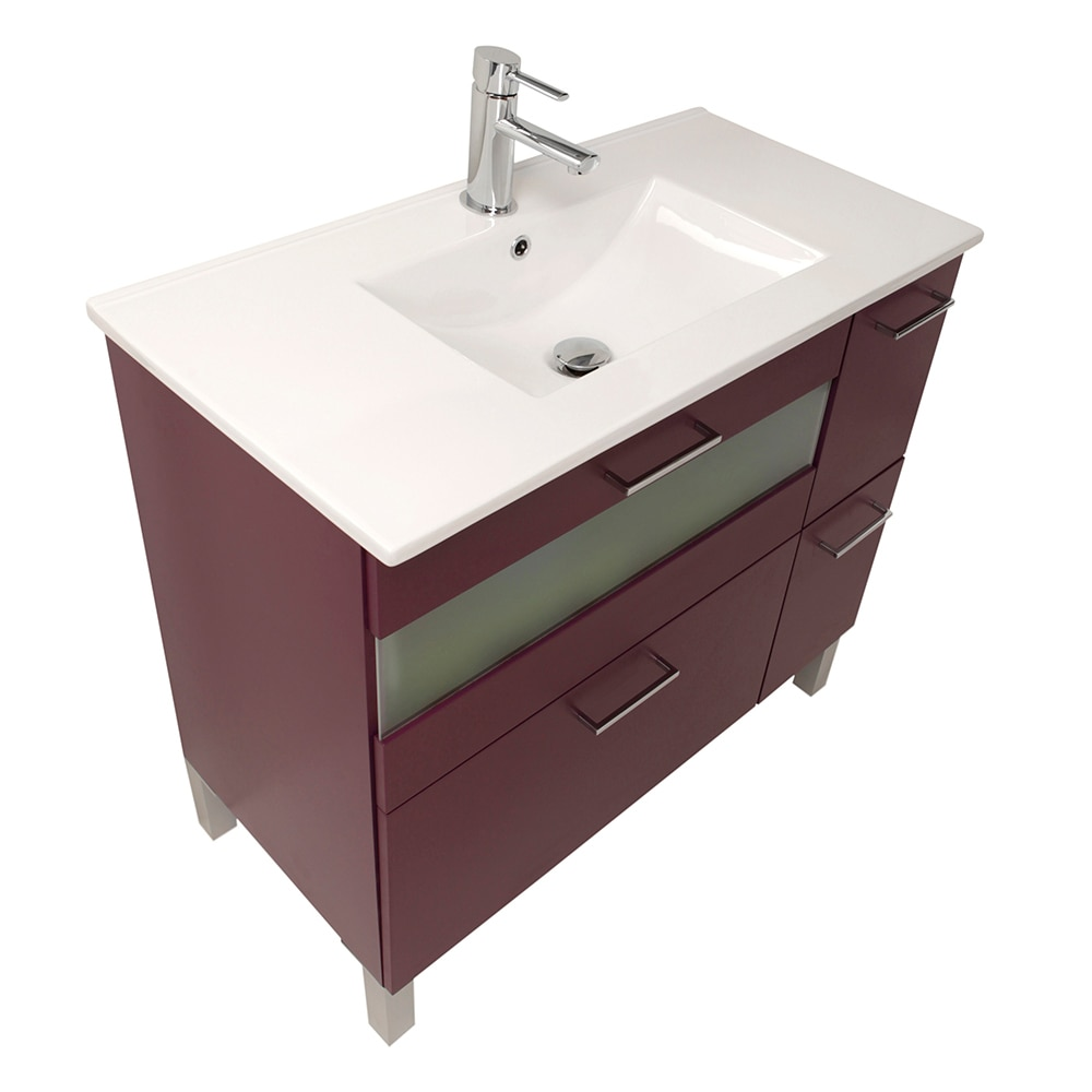 Mueble de lavabo fox ref 16729986 leroy merlin for Mensola lavabo leroy merlin