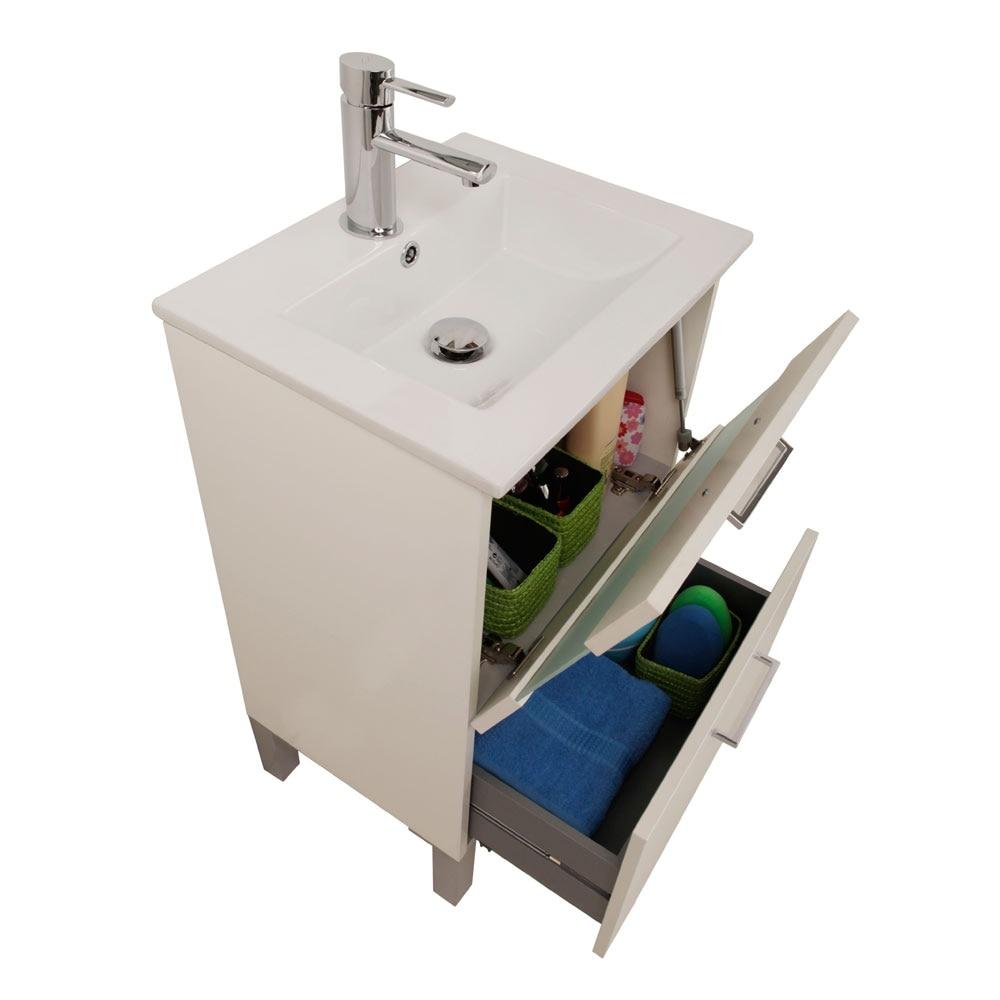 Mueble de lavabo fox ref 16732632 leroy merlin - Mueble microondas leroy merlin ...