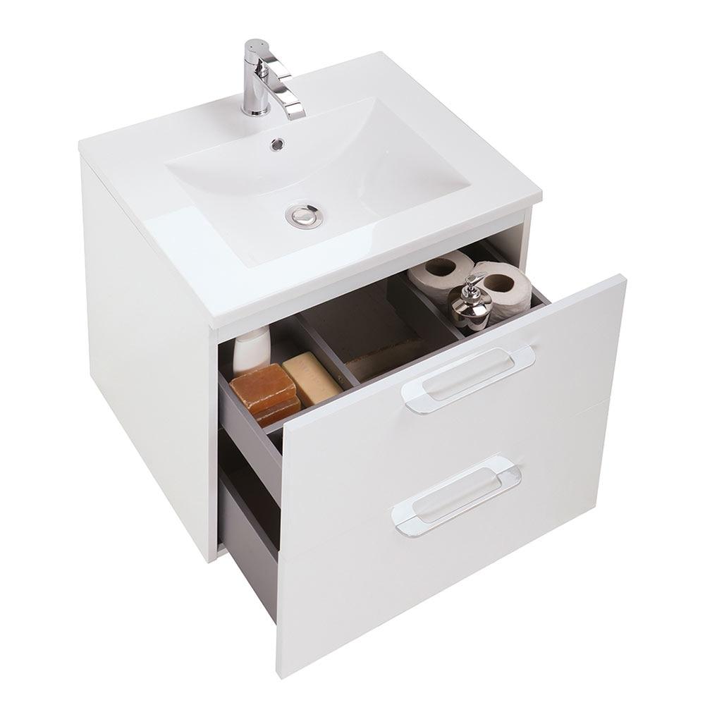 Conjunto de mueble de lavabo happy ref 18583971 leroy for Mueble plancha leroy merlin