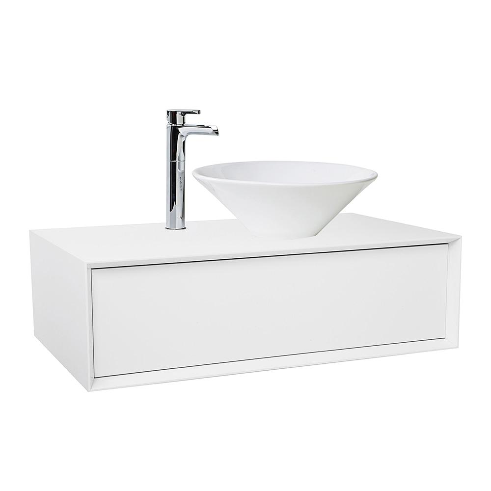 Mueble de lavabo illinois ref 15869896 leroy merlin - Lavabo colonne leroy merlin ...