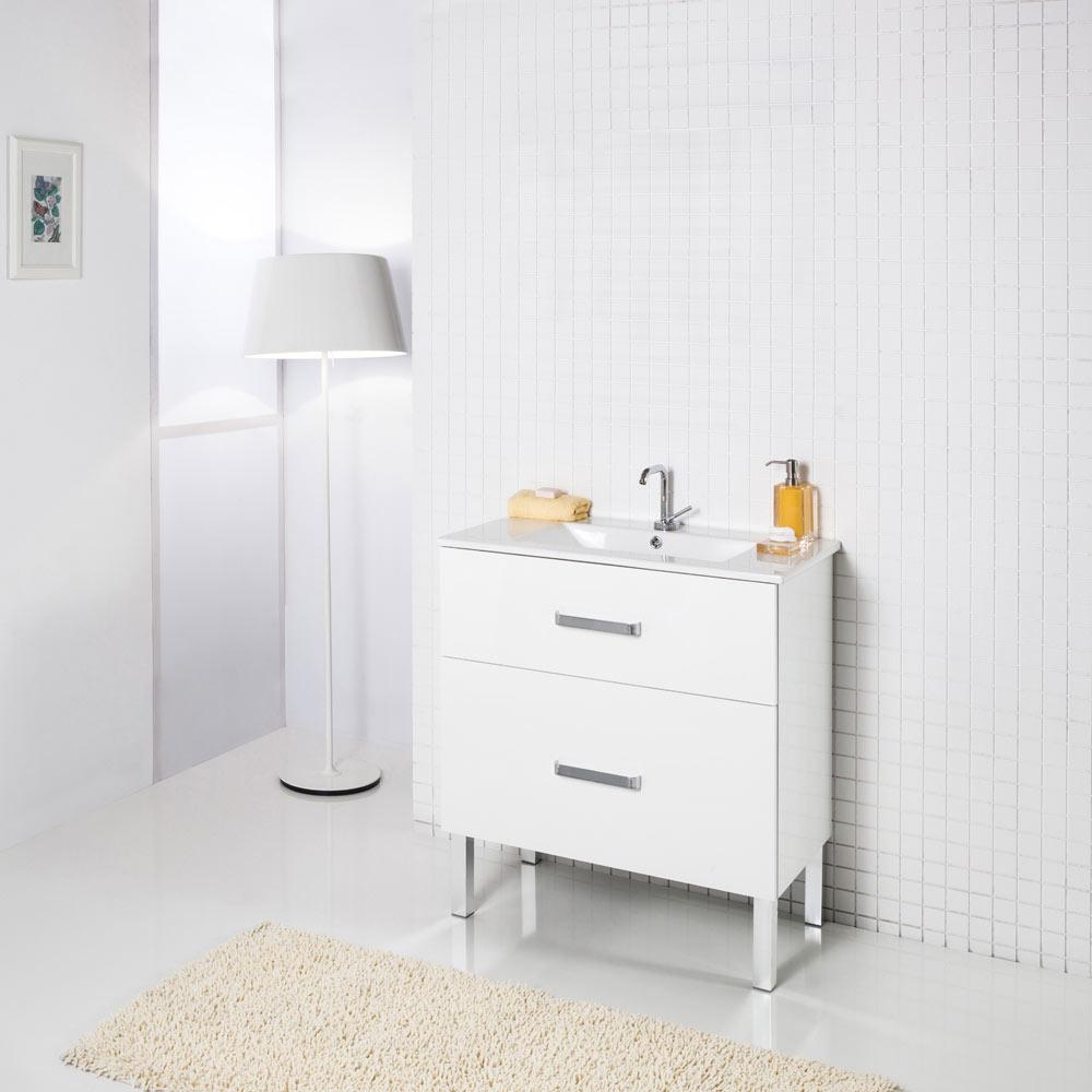 Organizador Cajones Baño Leroy:Conjunto de mueble de lavabo INVICTA Ref 18570930 – Leroy Merlin