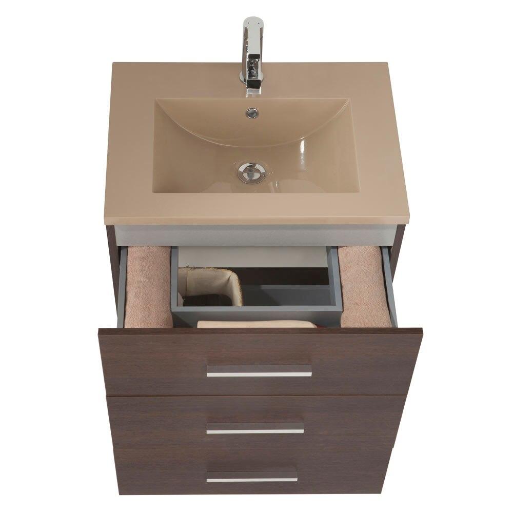 Mueble de lavabo madrid ref 17985793 leroy merlin - Mueble lavabo pie leroy merlin ...