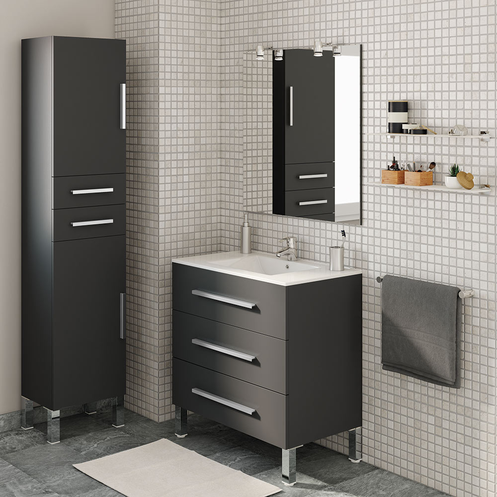 Mueble de lavabo madrid ref 17985884 leroy merlin for Muebles zapateros madrid