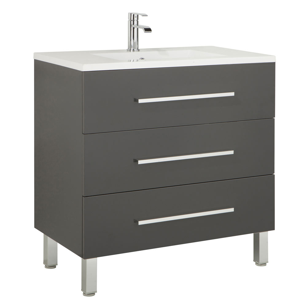 Mueble de lavabo madrid ref 17985912 leroy merlin for Mueble lavadora leroy merlin