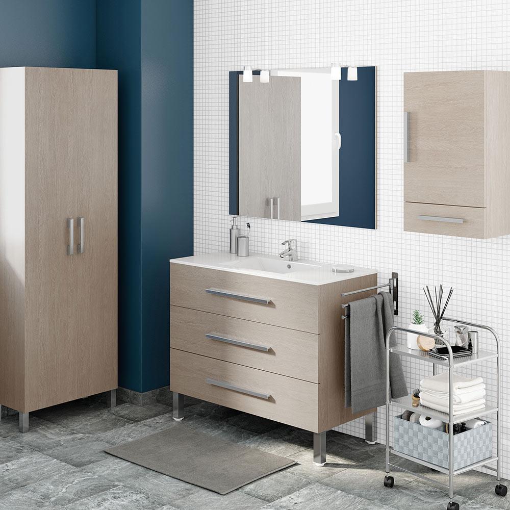 Mueble de lavabo madrid ref 17986066 leroy merlin - Muebles 1 click madrid ...