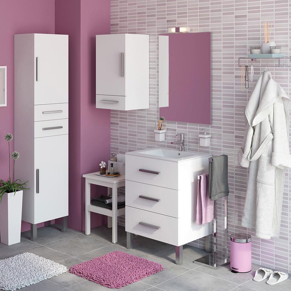 Mueble de lavabo madrid ref 18105353 leroy merlin for Mueble zapatero leroy merlin