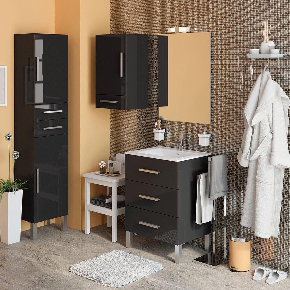 Mueble de lavabo madrid ref 18105381 leroy merlin - Muebles 1 click madrid ...