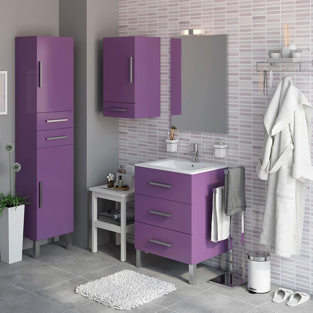 Mueble de lavabo madrid ref 18105416 leroy merlin for Mueble lavadora leroy merlin