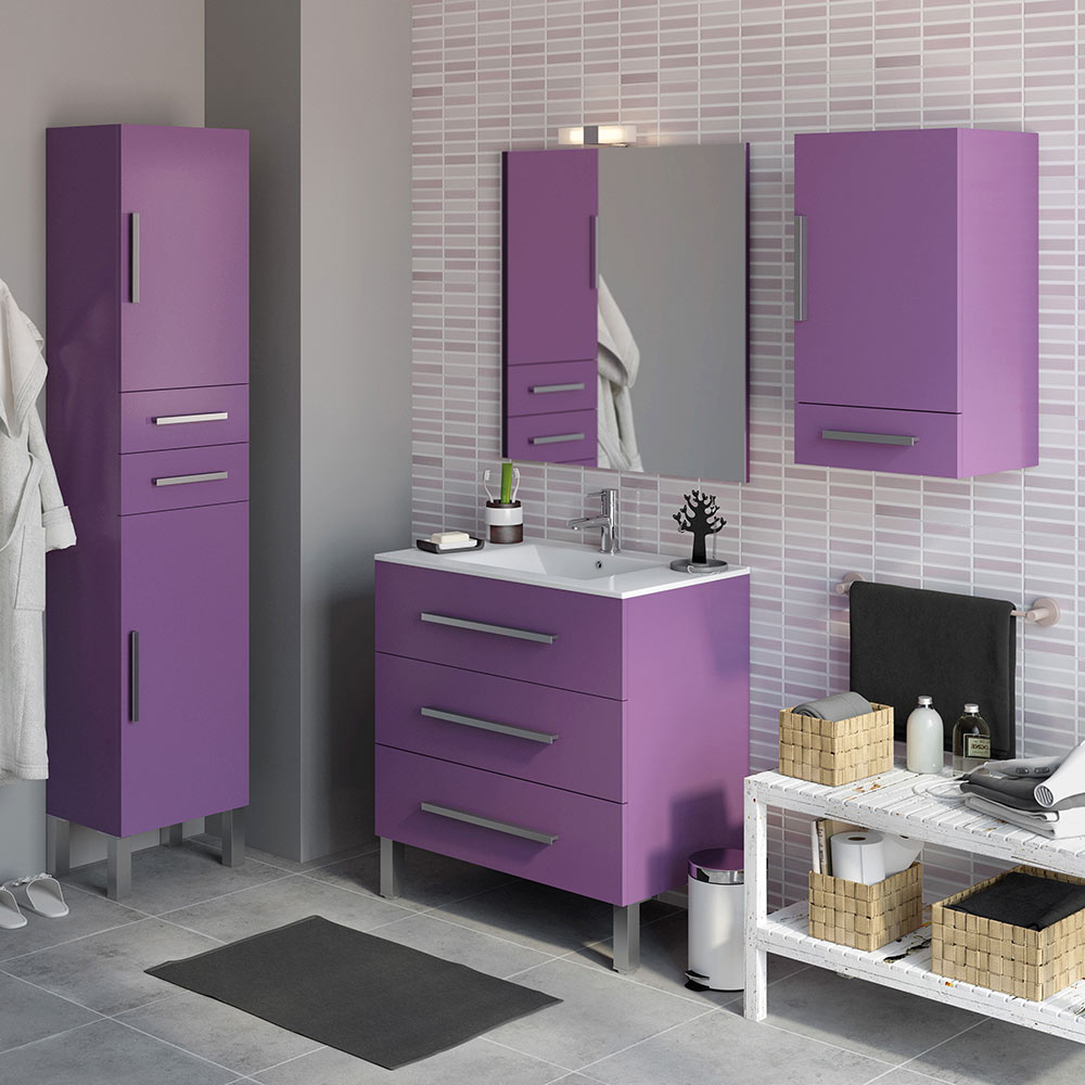 Mueble de lavabo madrid ref 18105486 leroy merlin for Leroy merlin madrid catalogo